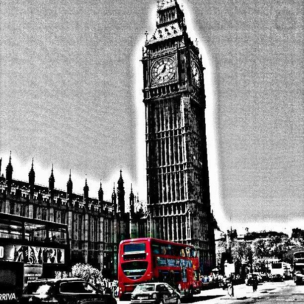 Old Photograph - Edited Photo, May 2012 | #london by Abdelrahman Alawwad