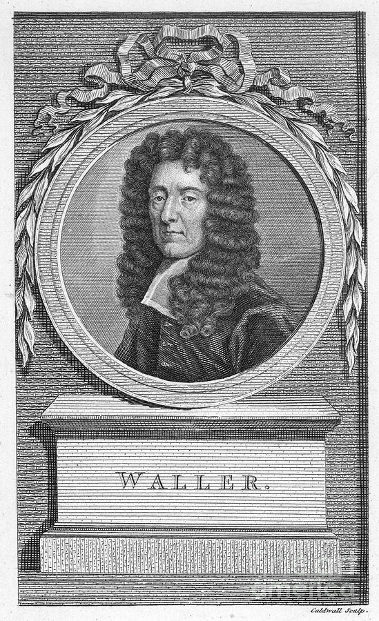 Edmund Photograph - Edmund Waller (1606-1687) by Granger