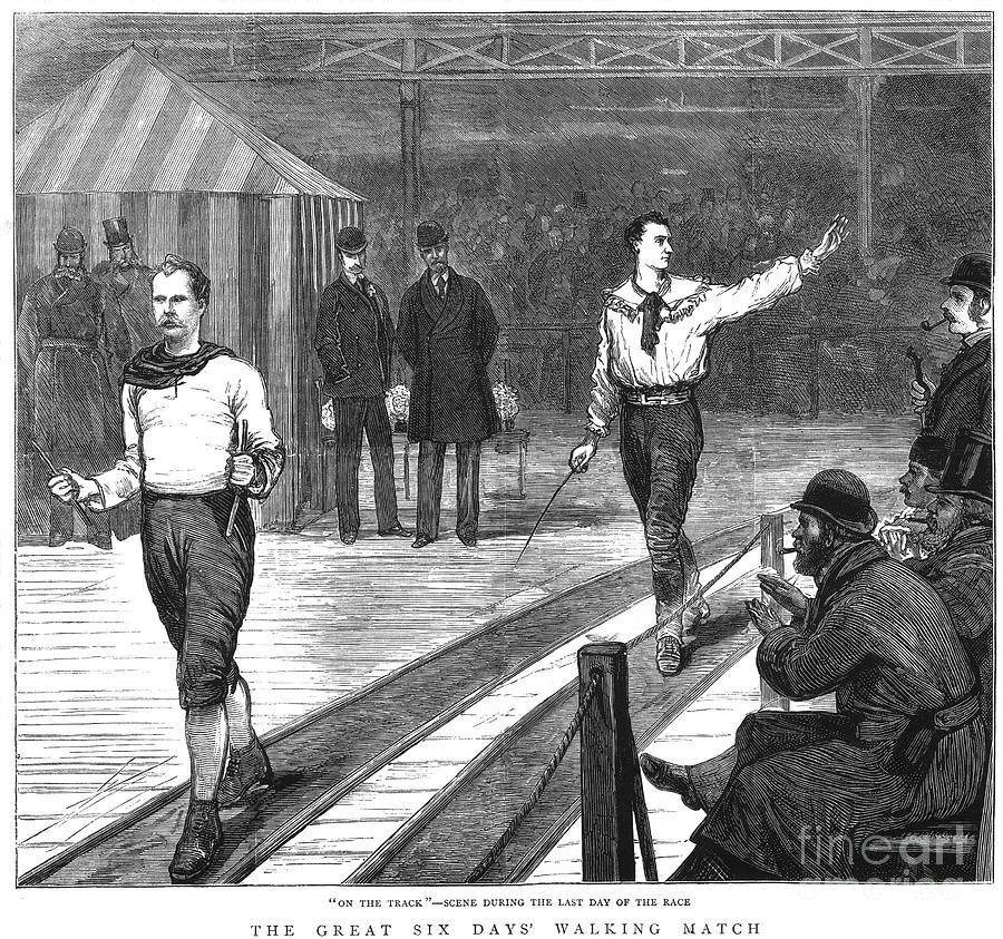 1877 Photograph - Edward Payson Weston by Granger