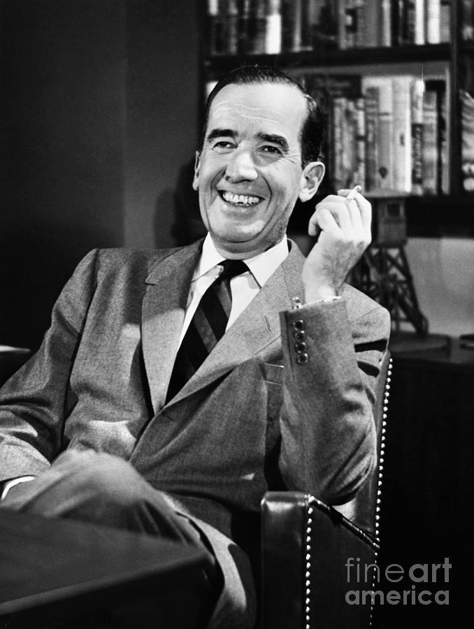 1958 Photograph - Edward R. Murrow by Granger