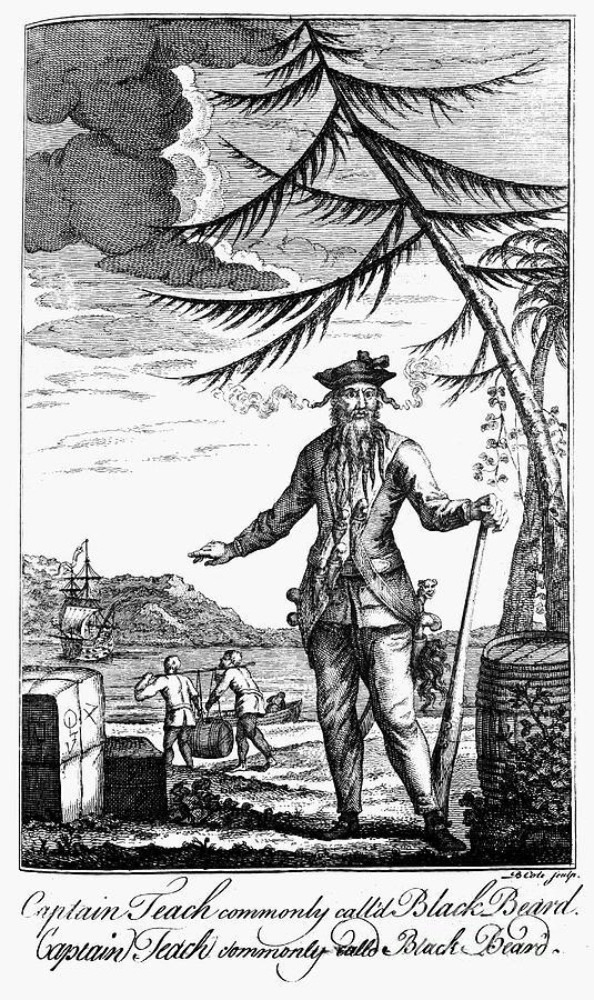 18th Century Photograph - Edward Teach (?-1718) by Granger