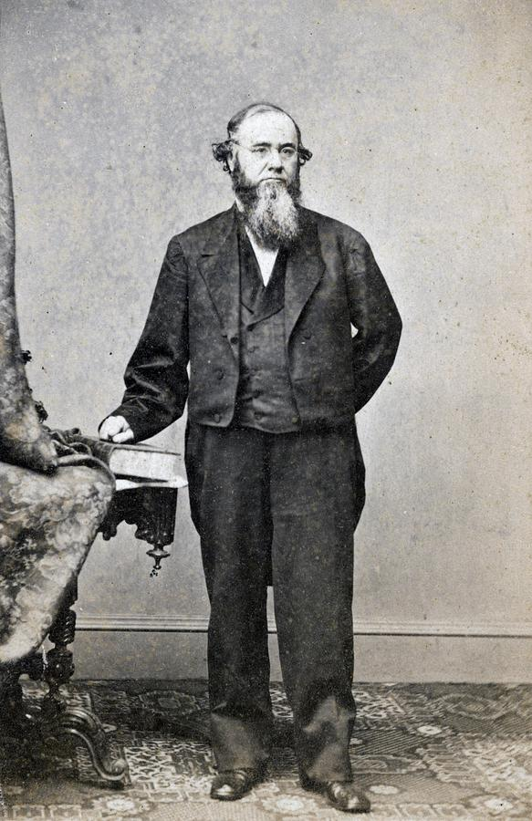 1860s Photograph - Edwin Stanton, Secretary Of War Ender by Everett