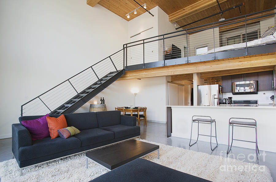 Apartment Photograph   Efficiency Apartment Interior By Ben Sandall