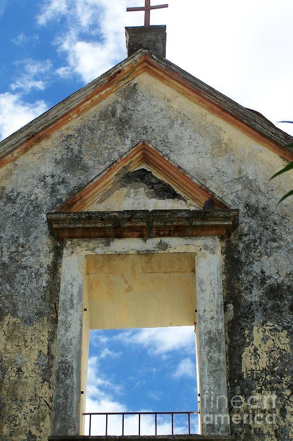 Eglise - Ile De La Reunion Photograph by Francoise Leandre