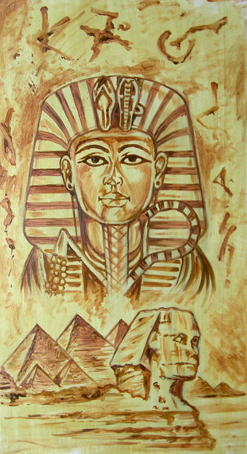 Egypt Painting by Tomy Joseph