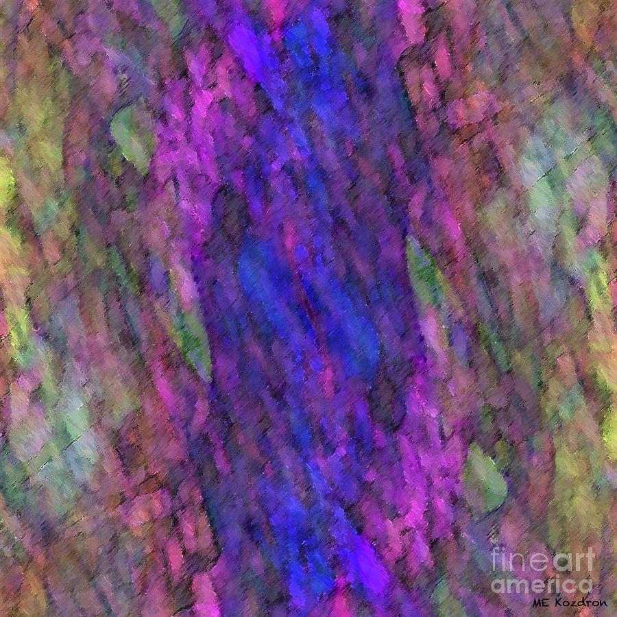 Abstract Digital Art - Eidolon by ME Kozdron