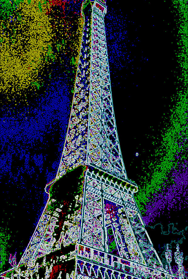 Gallery Art Photograph - Eiffel by David Alvarez