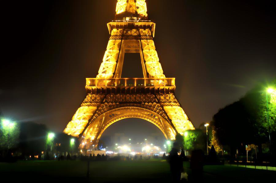Paris Photograph - Eiffel Tower Abstract by Scott Massey