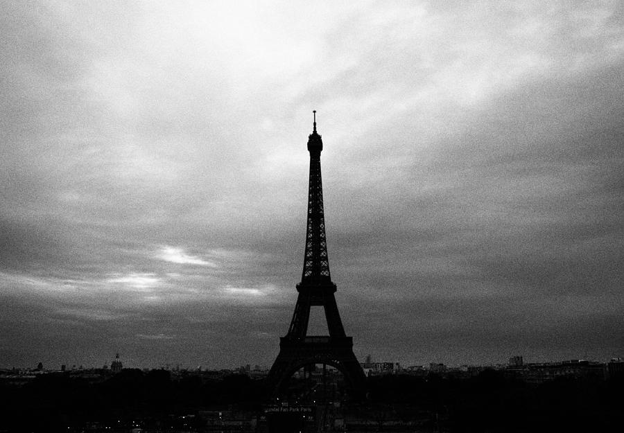 Eiffel Tower Images Black And White: Eiffel Tower Black And White Photograph By Kelsey Horne