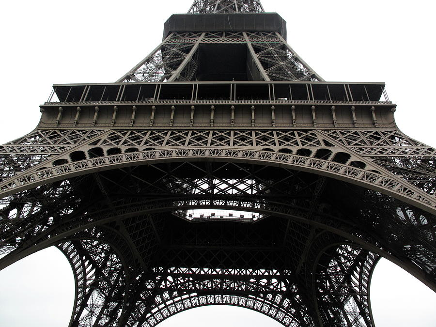 Horizontal Photograph - Eiffel Tower by G Fletcher