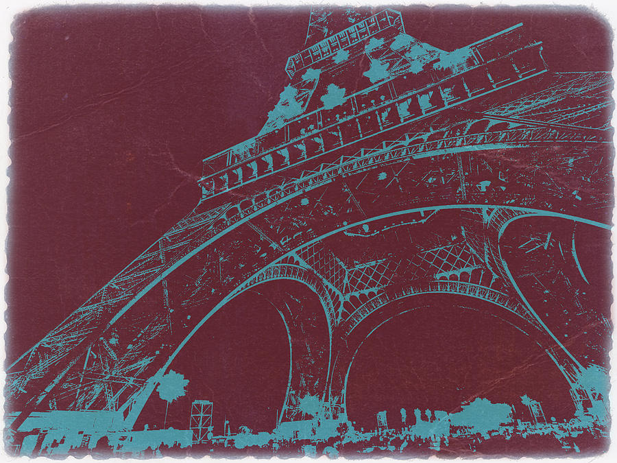 Eiffel Tower Photograph - Eiffel Tower by Naxart Studio