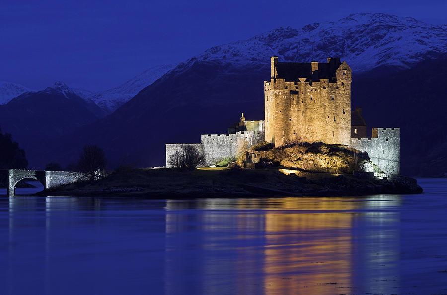 Eilean Donan Castle Photograph - Eilean Donan Castle by Duncan Shaw