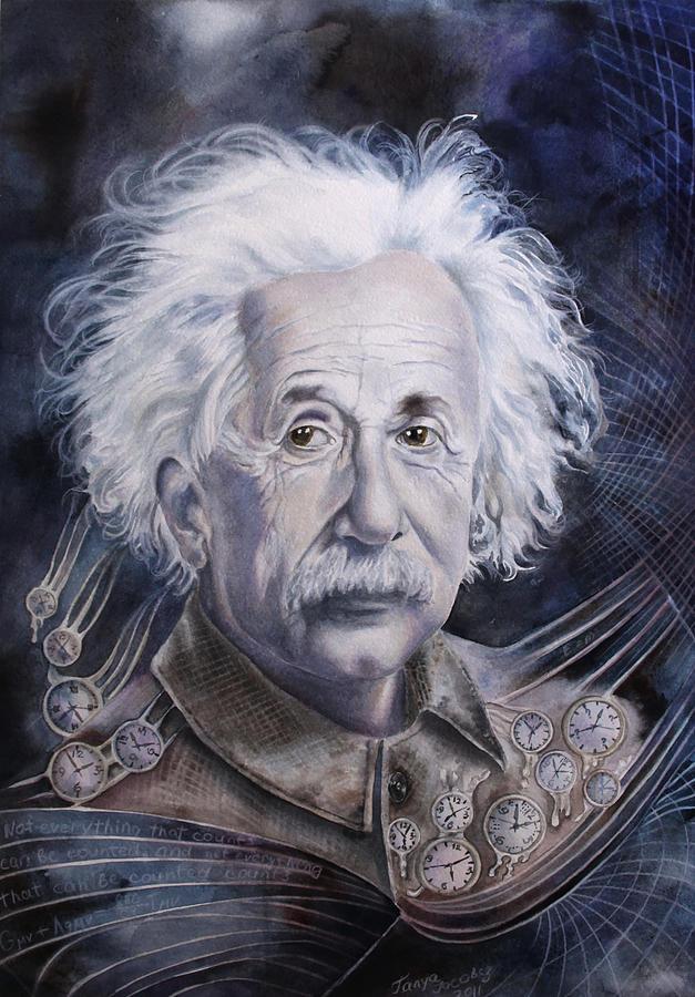 Albert Einstein Painting - Einstein by Tanya Jacobsz