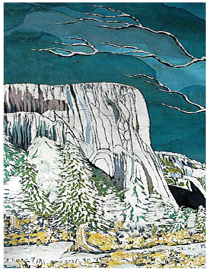 El Capitan Tapestry - Textile by Alexandra  Sanders