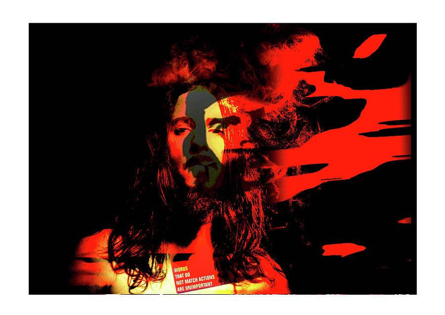 El Che - Two Face Photograph by Francesco Valentino