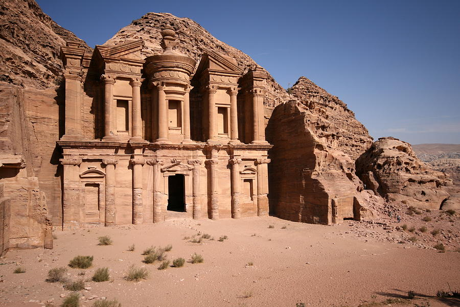 Horizontal Photograph - El Deir, The Monastery, Petra, Jordan by Joe & Clair Carnegie / Libyan Soup