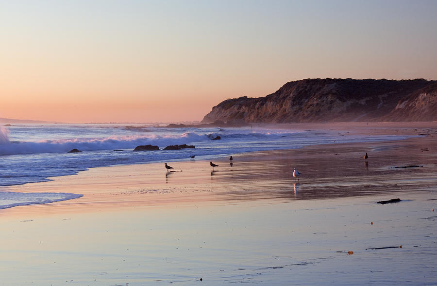 El Moro Beach Crystal Cove State Park Photograph By Cliff
