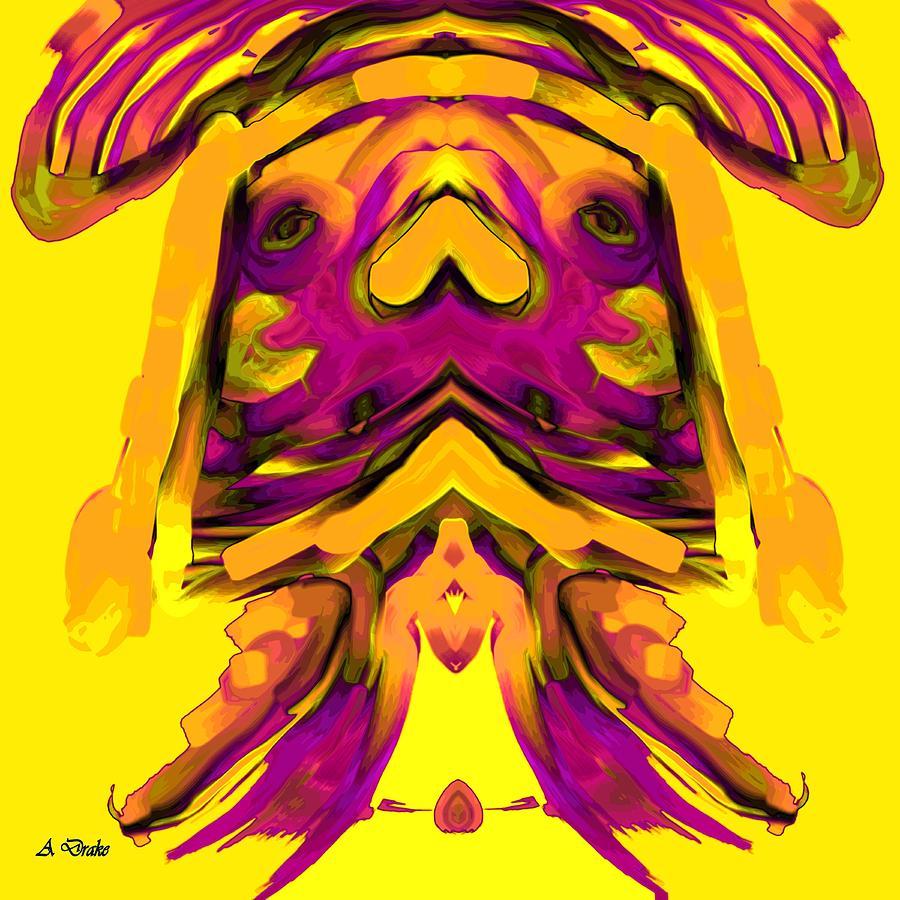 El Digital Art - El Nino by Alec Drake