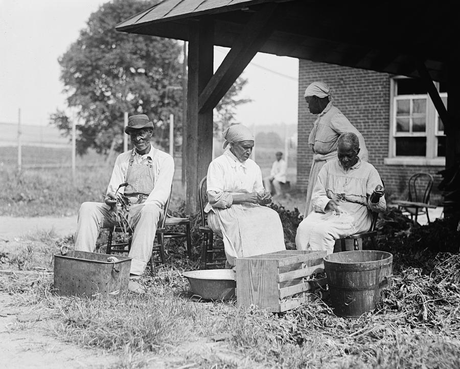 Historical Photograph - Elderly African Americans Who Were Once by Everett