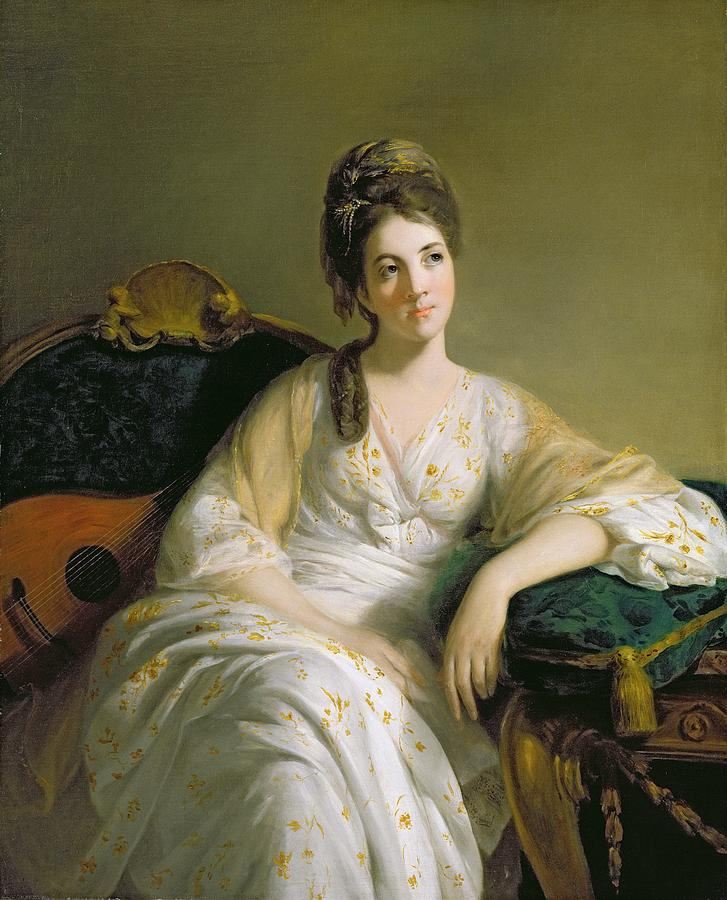 Eleanor Painting - Eleanor Francis Grant - Of Arndilly by Tilly Kettle