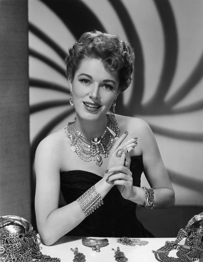 1940s Portraits Photograph - Eleanor Parker, Ca.late 1940s by Everett