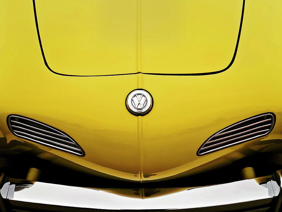 Volkswagen Digital Art - Electric Karmann by Douglas Pittman