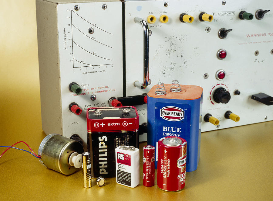 Power Supply Photograph - Electrical Power Sources by Andrew Lambert Photography