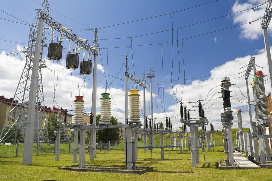Power Photograph - Electricity For A City by Aleksandr Volkov