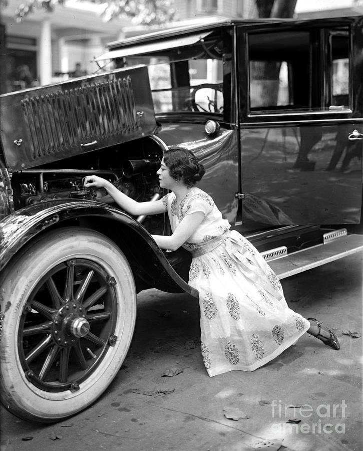 Elegant Auto Mechanic Photograph by Padre Art