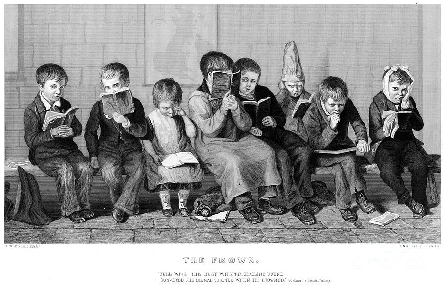 19th Century Photograph - Elementary School by Granger