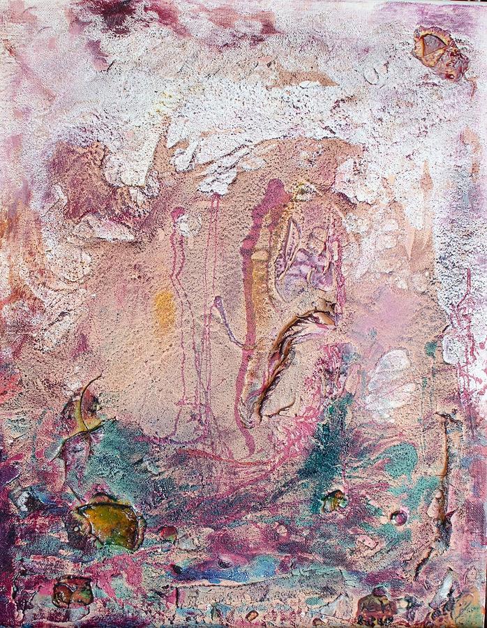 Landscape Painting - Elements by Neda Laketic