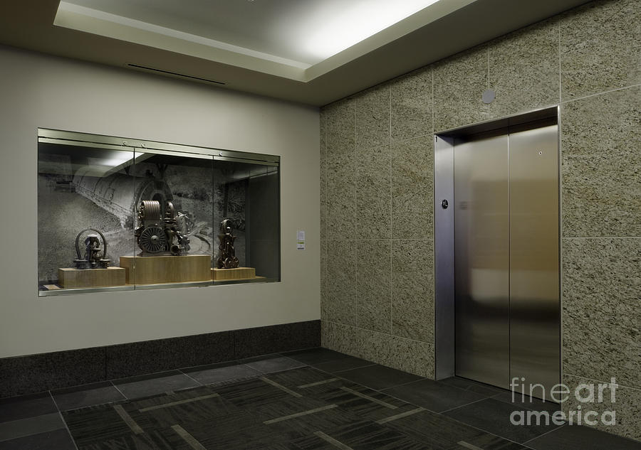 Architecture Photograph - Elevator by Robert Pisano
