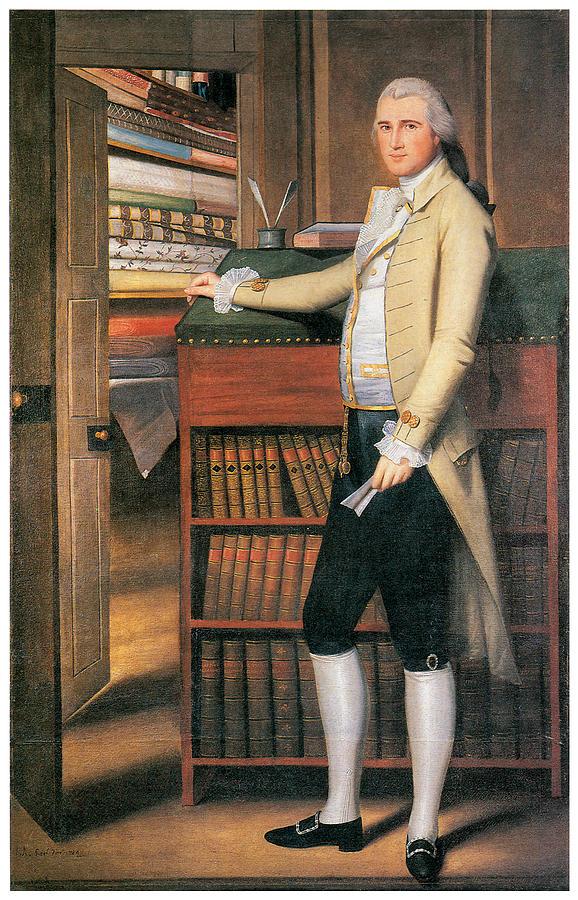 Portrait Painting - Elijah Boardman by Ralph Earl