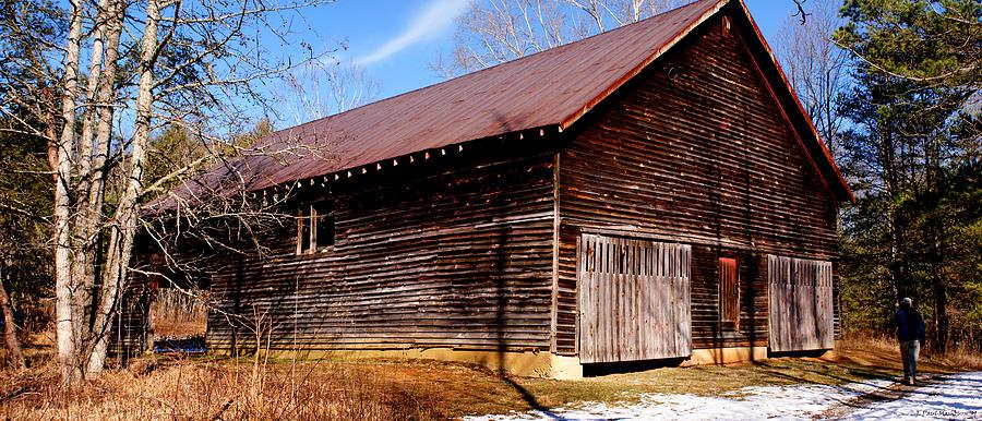 Barn Photograph - Elijah Oliver Barn by Paul Mashburn