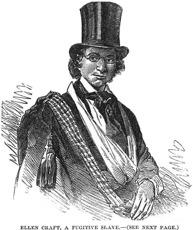 19th Century Photograph - Ellen Craft (b.1826) by Granger