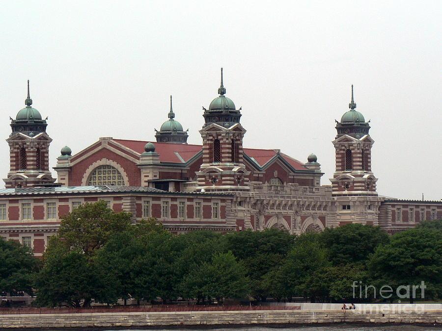Ellis Island Photograph - Ellis Island  by Elizabeth Fontaine-Barr