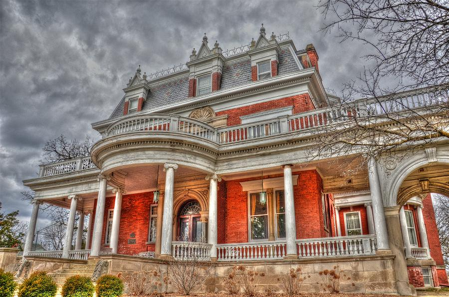 House Photograph - Ellwood Mansion by Dan Crosby
