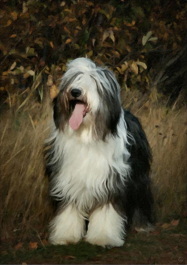 Animal Digital Art - Elsa And Autumn by Gun Legler