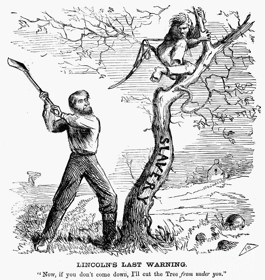 Emancipation Cartoon 1862 Photograph By Granger