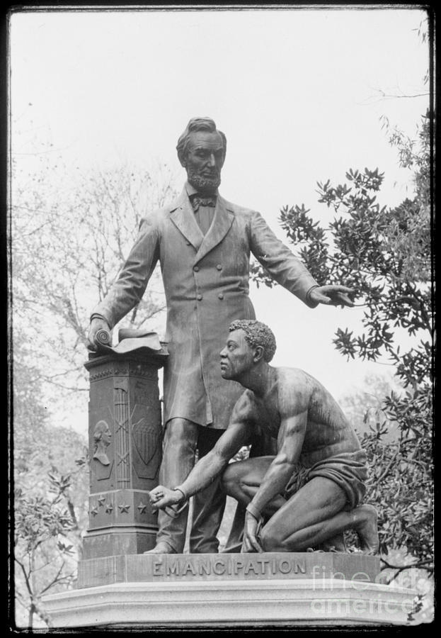 1876 Photograph - Emancipation Memorial, 1876 by Granger