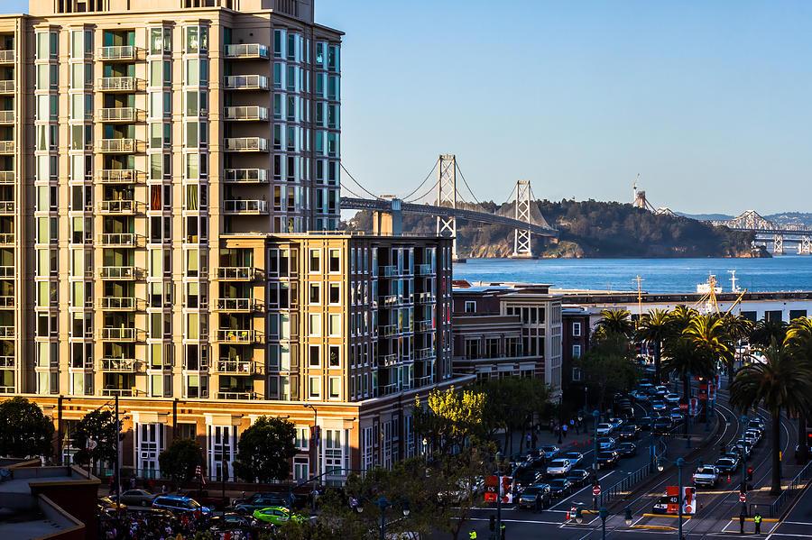 San Francisco Photograph - Embarcadero by Rick DeMartile