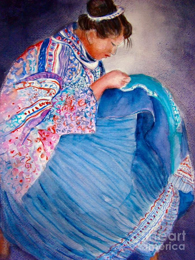 Embroidery Painting By Myra Evans