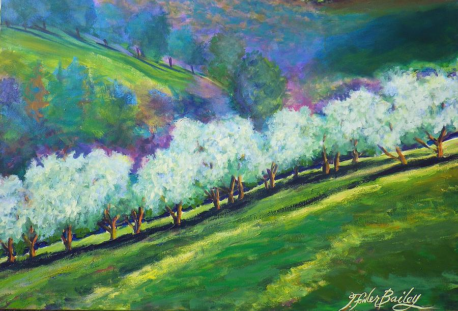 Olives Painting - Emeralds Of Italy by Therese Fowler-Bailey