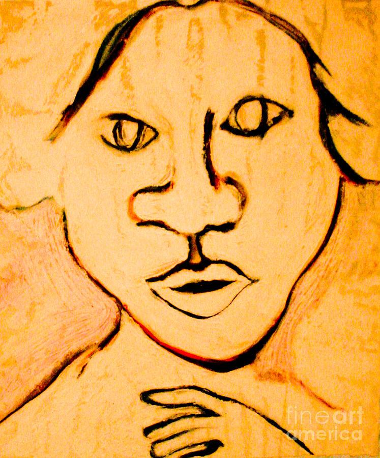 Emily Mixed Media by Bill Davis