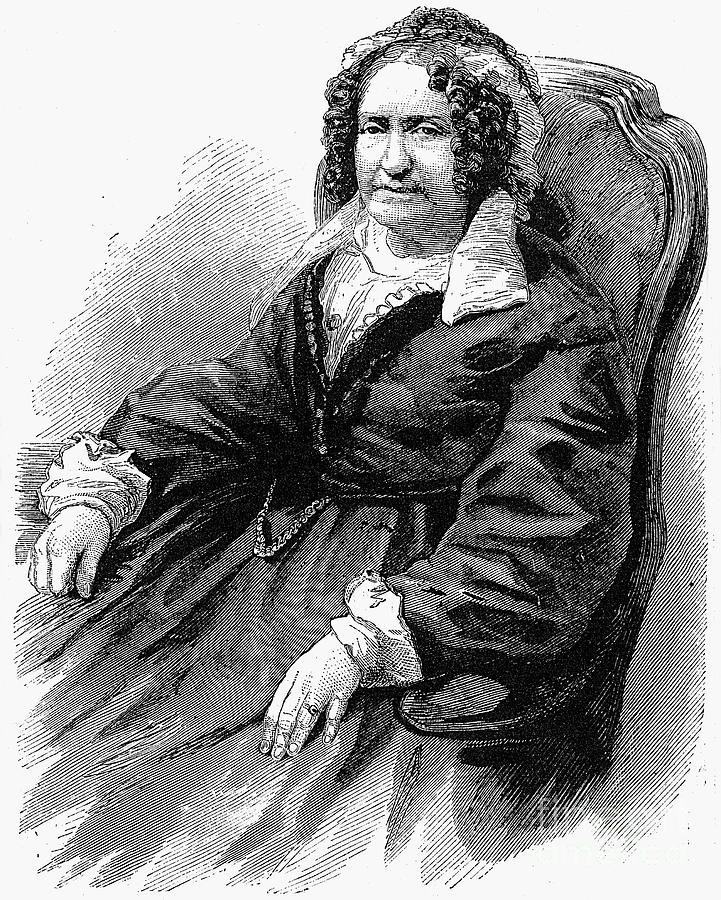 Emma Willard (1787-1870) Photograph by Granger