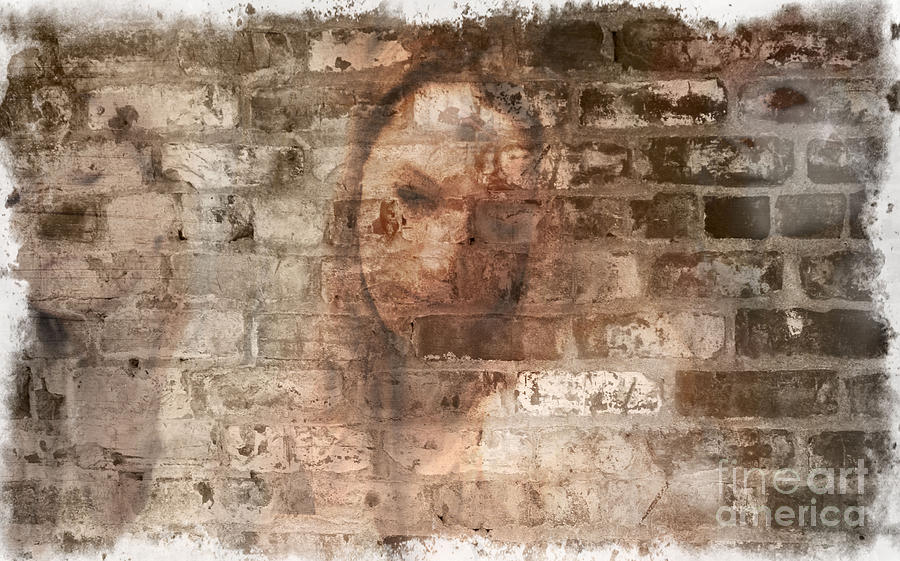 Manipulation Photograph - Emotions- Self Portrait by Janie Johnson