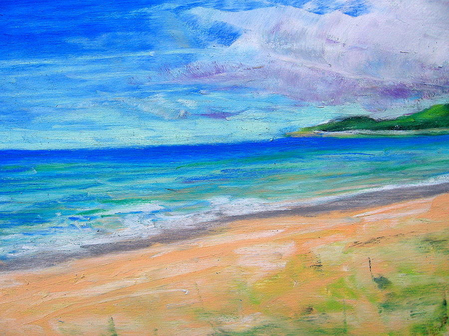 Empire Beach Pastel by Lisa Dionne