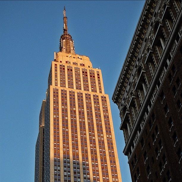 Newyorker Photograph - #empire #newyorker #newyork #ny by Joel Lopez