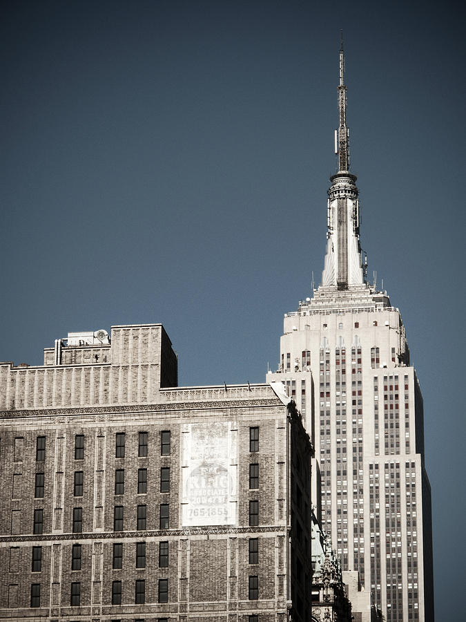 New York City Photograph - Empire State 2 by Darren Martin