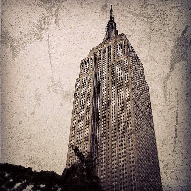 Newyorker Photograph - Empire State Building - New York by Joel Lopez